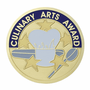 Culinary Arts Award Medal Insert (Etched) - Click to enlarge