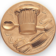 Culinary Arts Litho Medal Insert - Click to enlarge