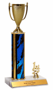 Trophies With Place Trim (1st, 2nd, or 3rd) - Cup Figure - Click to enlarge