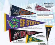 Custom Pennants, Banners & Flags - Click to enlarge