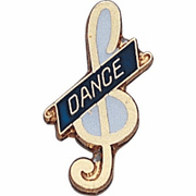Dance Clef Pins - Click to enlarge