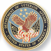 Dept. Of Veteran Affairs Medal Insert (Etched) - Click to enlarge