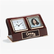 Desk Clock with Photo - Click to enlarge