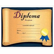 Diploma Certificate - Click to enlarge