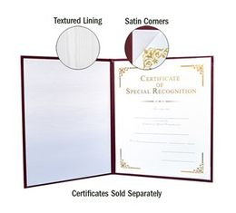Stock (Blank) Diploma Covers for 8 1/2