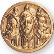 Drama Litho Medal Insert - Click to enlarge