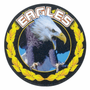 Eagles Mascot Medal Insert - Click to enlarge