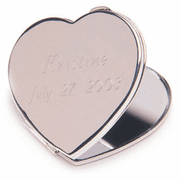 Engraved Heart Mirror - Click to enlarge