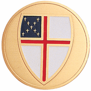 Episcopal Medal Insert (Etched) - Click to enlarge