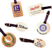 Personalized Luggage & Golf Bag Tags - Click to enlarge