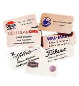 Brass Name Tags - Click to enlarge
