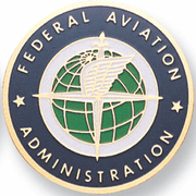 Fed. Aviation Administration Medal Insert (Etched) - Click to enlarge