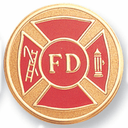 Fire Department (49919) Litho Medal Insert - Click to enlarge