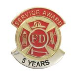 Fire Department Service Pins - Click to enlarge