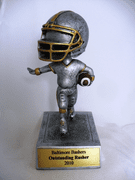 Football Bobble Head Trophy - Click to enlarge
