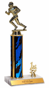 Trophies With Place Trim (1st, 2nd, or 3rd) - Football - Click to enlarge