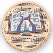 Music (497664) Litho Medal Insert - Click to enlarge