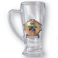 Glass Tankard with Subject Insert