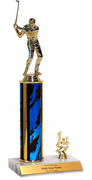 Golf Place Trim Trophies (1st, 2nd, 3rd) - Click to enlarge