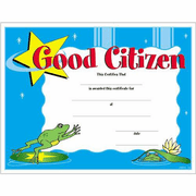 Good Citizen Certificates - Click to enlarge
