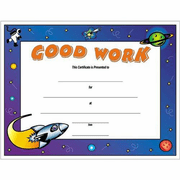 Good Work Certificates - Click to enlarge