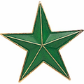 Green Star Pins - Click to enlarge