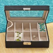 Personalized Women's Jewelry Box - Click to enlarge