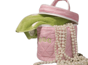Personalized Holly Golightly Quilted Tote - Click to enlarge