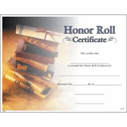Honor Roll Award Certificates - Click to enlarge