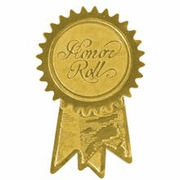 Honor Roll (Ribbon) Embossed Seals - Click to enlarge