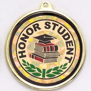 Honor Student Medals - Click to enlarge