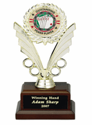 Poker Insert Trophy - Click to enlarge