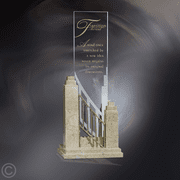Interlude Marble, Metal & Glass Award - Click to enlarge