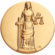 Justice Litho Medal Insert - Click to enlarge