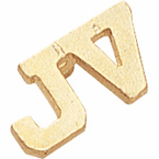 JV Jacket Lapel Pins - Gold - Click to enlarge