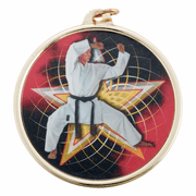 Color Karate Medals (2 3/16 Inch) - Click to enlarge