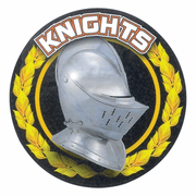 Knights Mascot Medal Insert - Click to enlarge