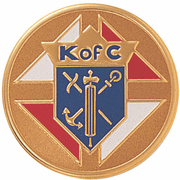 Knights Of Columbus Litho Medal Insert - Click to enlarge