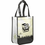 Laminated Non-Woven Small Shopper Tote - Click to enlarge