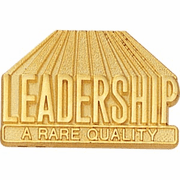Leadership - A Rare Quality Lapel Pin (BR Series) - Click to enlarge