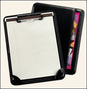 Leather Clipboard / Portfolio - Click to enlarge