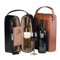 Leather Double Wine Presentation Case