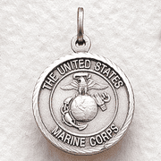 Marines Medal Cross on Back - 20