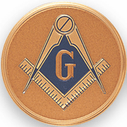 Masonic Litho Medal Insert - Click to enlarge