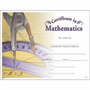 Math Certificates - Click to enlarge