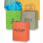 Custom Gift & Shopping Bags - Click to enlarge