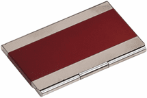 Metal Business Card Holder - Click to enlarge