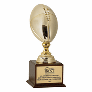 Metal Football Trophy - Click to enlarge