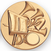 Music Band Litho Medal Insert - Click to enlarge