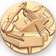 Classical Music Litho Medal Insert - Click to enlarge